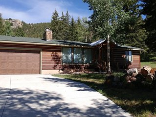 Trout Haven Cabin - Picturesque Cabin at Eleven Mile Reservoir! Backs to Forest