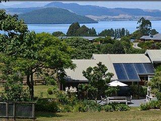 Luxury Lifestyle House overlooking Lake Rotorua