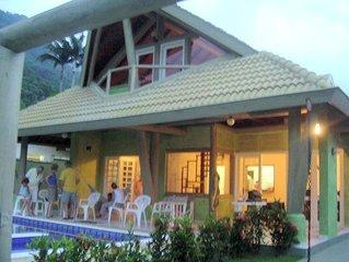 Casa Cond. Pedra Verde - Ubatuba - P. Lázaro - 6 suites