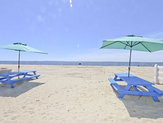 4Bdr Beachfront Property at Old Colony Beach , Old Lyme with WIFI