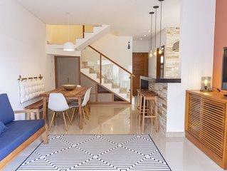 Casa da Lelê - Duplex- Nova- 300 mts da praia - para até 6 adultos