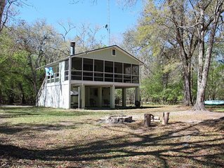 Santa Fe River Waterfront - The Spring House