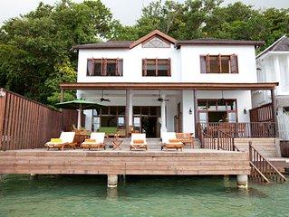 Waterfront Luxury! Fully staffed! Blue Lagoon! Luxury all the way!Avalon