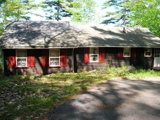 A 'Walden' experience in NH - The Quintessential Lakefront Cabin, Ready for Fish
