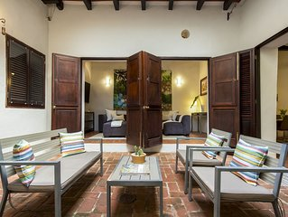Villa San Justo   Iconic Spanish 3 Bedroom in Old San Juan
