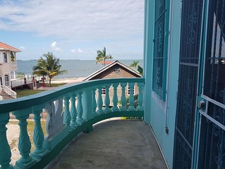 Escape from the noise and relax in this Tranquil See Belize Sea View 1BR Villa!