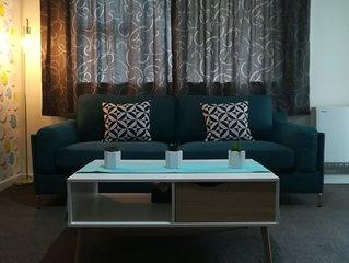 Modern 2 bed apartment - Hokowhitu, close to Massey