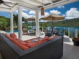 St. Somewhere - sparkling panoramic views, minutes to Magen's Bay!