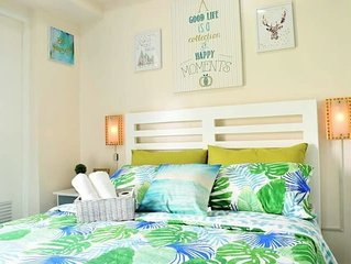 COOLSCAPE Tagaytay:FRESH 1BR with WIFI/Cable/Pool
