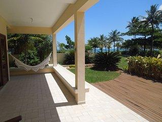 Casa em condominio para toda a familia, pe na areia em Guaeca