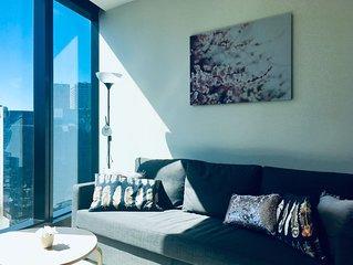 Deluxe Modern New Apartment*Melbourne New Landmark