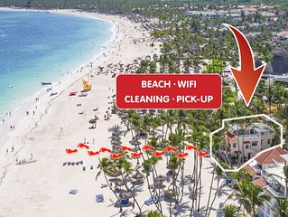 Deluxe Villa 4bdr Beachfront Ocean View