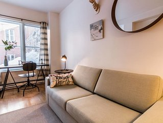 Large 3 rooms in Old Quebec