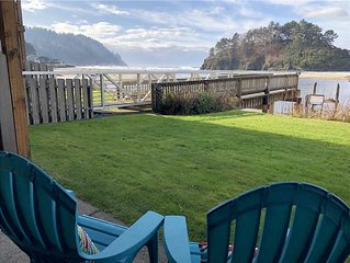 Oceanfront Studio Condo in Neskowin Resort