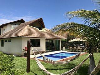 #Bangalô Resort Beira Mar na Praia dos Carneiros