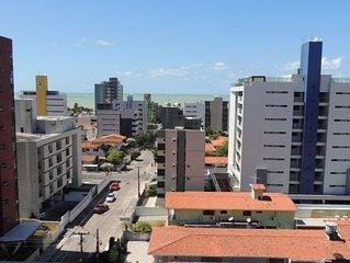Apartamento na melhor praia da cidade