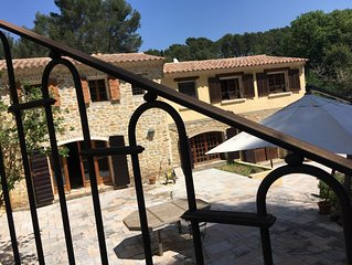 Provencal Estate with full privacy, no nuisances, near beaches, F1 GP racetrack