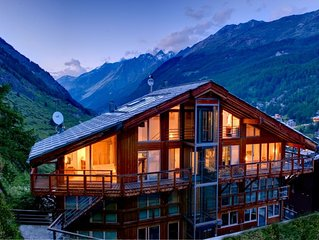 Heinz Julen Penthouse - A luxurious 4 bedroom Chalet located in Zermatt