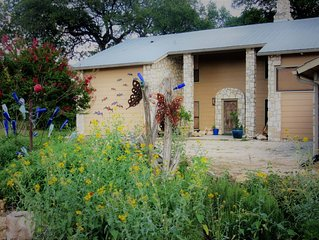 Beautiful Nature Retreat near Concan, TX