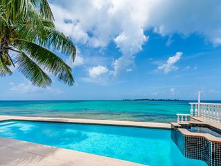 NO HURRICANE DAMAGE: Sea View Beach Villa , private pool and Jacuzzi