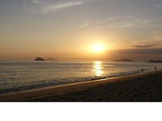 Apto de 1 dormitório  para casal a 80m da Praia Disponível carnaval