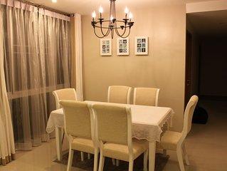 Specious 3 bedrooms & 3 bathrooms beach front condo at Cha-am/Hua Hin