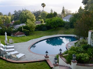 Large, bright, estate with magnificent grounds and views--Perfect location!