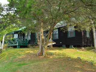 Grindstone Island Waterfront Lodge, Cabin&Boathouse on 600 Acre Private Preserve