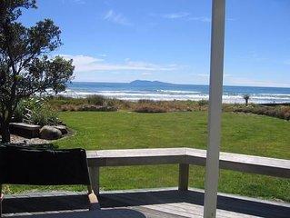 Waihi Beach - Beach Front Bach