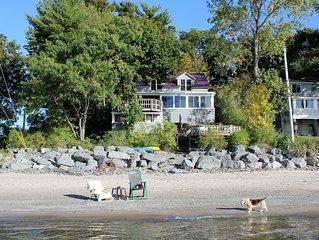 Lake Front Lake Ontario!  Beautiful Family Setting!