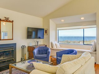 Neel Nirvana- Spacious Ocean Front Home with Private Deck on the Bluffs