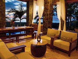 3 Bed/3 Bath Luxury Balinese Home with Huge Ocean View+Pool