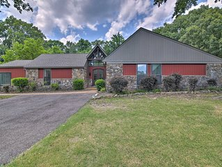 Southaven Home on 8 Acres w/Private Pool & Porch!