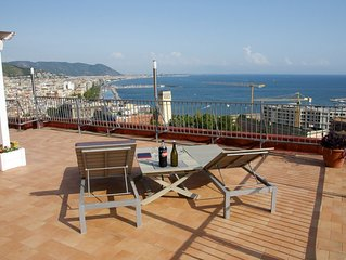Amazing Penthouse in Salerno - Amalfi Coast.Few steps to the Beaches & Nightlife