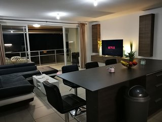 Welcome to an Elegant 95m2 two-bedroom apartment in Papeete