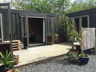 couples retreat, self contained container house