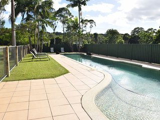 Tranquil & Spacious Poolside apartment on Farmstay - perfect for family holiday