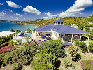 Blue Serenity - Luxury, Oceanfront, Private Beach Access, Pool & Hot Tub