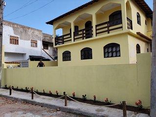 Casa 4Q frente pro Mar na Enseada Azul