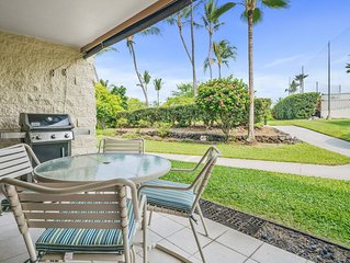 Inviting Garden View Condo w/ Golf Nearby- Private BBQ on Lanai, Complex Ameniti