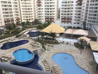 Ferias dos sonhos - Resort em Olimpia com acesso ao Thermas dos Laranjais