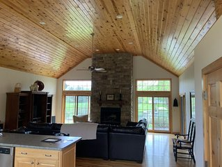 Custom Built Green Lake Family Retreat August and September weekends available