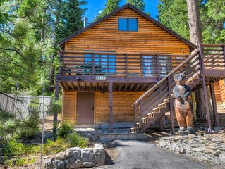 Charming Tahoe Cabin, Blocks From the Lake, Smart TV, 20 min to Squaw Valley