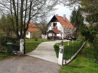 Holiday Home by Rastoke and Plitvice national park