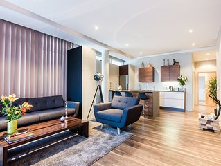 Brand new two bedroom apartment in central reykjavik