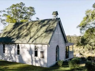 1880s Church by the Colo River - Hawkesbury