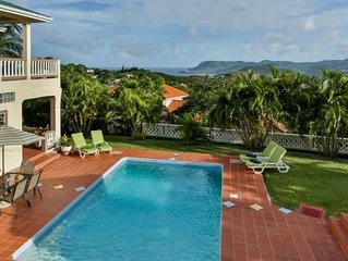 Spacious Family Villa, Cap Estate Resort, Pool, AC, Cook/Maid Service, Free Wifi