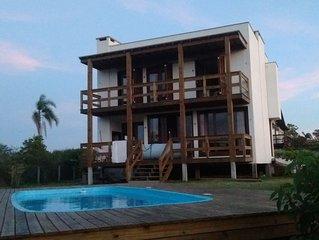 Casa de Praia com Vista da Lagoa