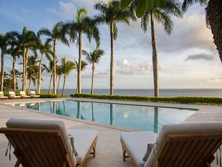 Oceanfront Paradise in Casa de Campo, Full Staff including Chef, Housekeeping, P