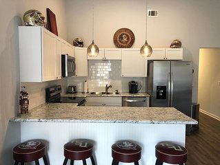 Newly Renovated Condo Overlooking Doak Campbell Stadium next to FSU's Campus